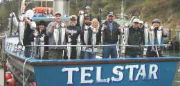 Salmon fishers on the Telstar