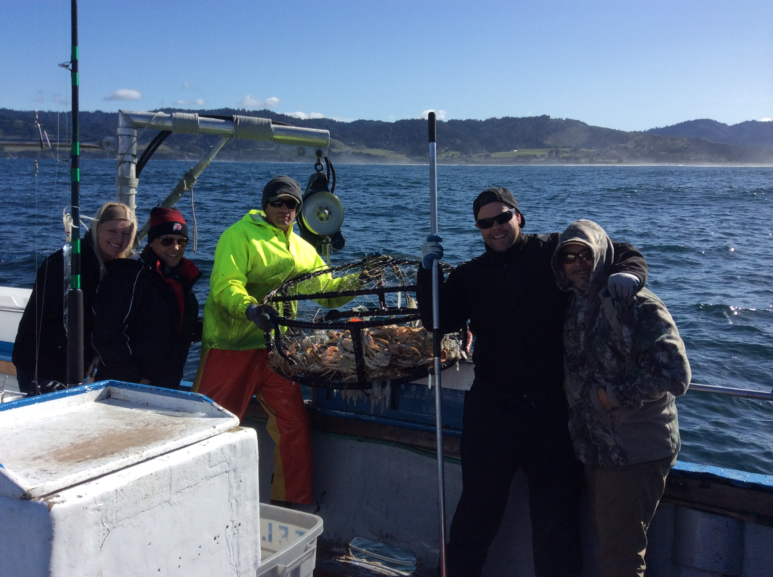 2015 salmon season is here telstar charters for Fort bragg fishing charters